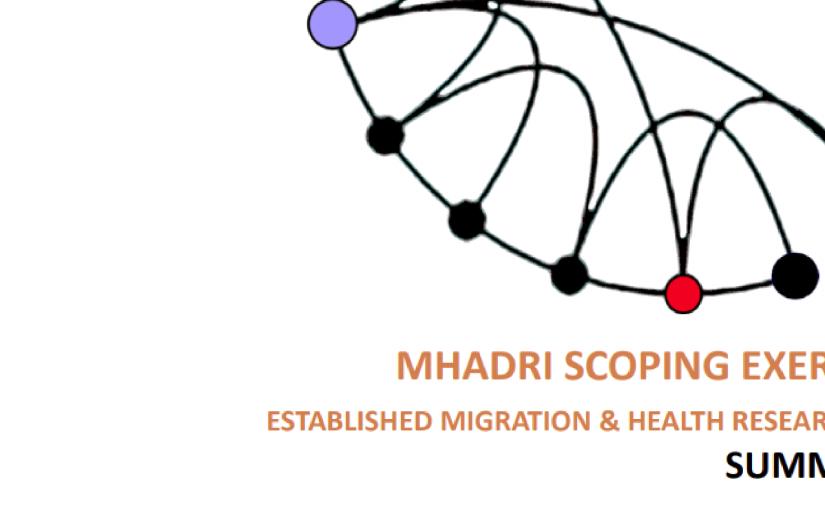 Key findings: MHADRI scopingexercise